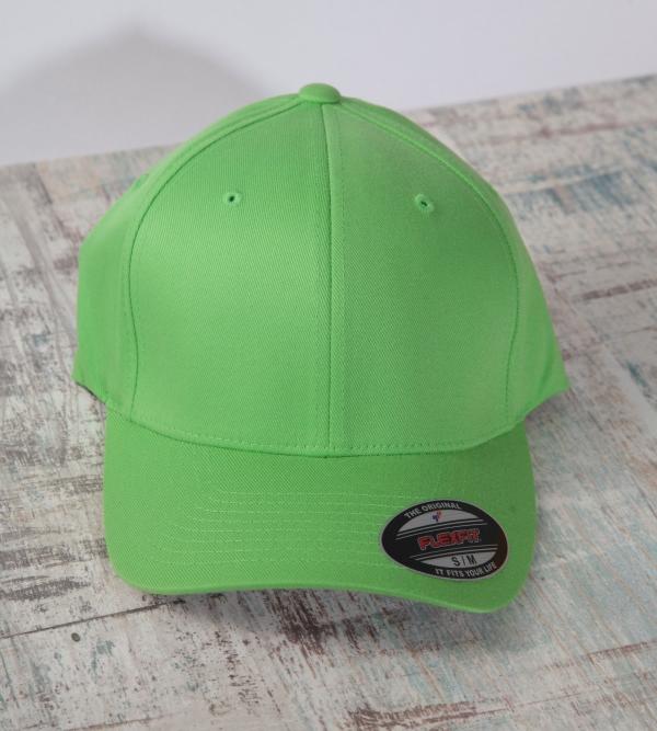 Flexfit Cap Hellgrün