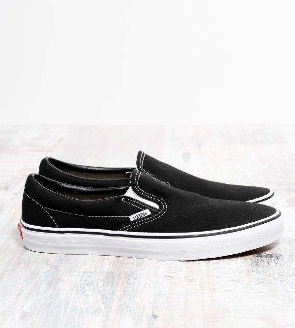 Vans Slip On Classic Sneaker Black White
