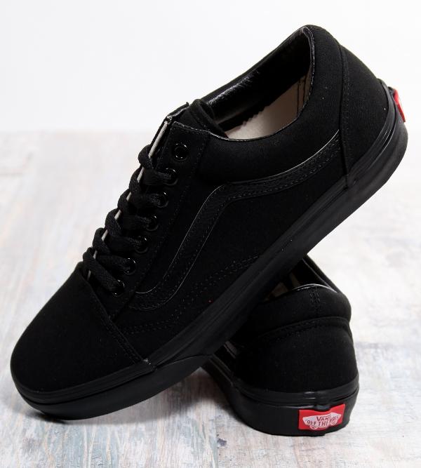 Vans Old Skool Black Black