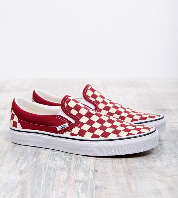 Vans Classic Slip On Rumba Red