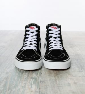 Vans Sk8-HI Classic Hightop Sneaker Black White