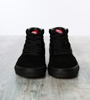 Vans Sk8-HI Classic Hightop Sneaker Black Black