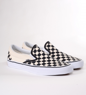 Vans Slip On Classic Sneaker Black White Checkerboard