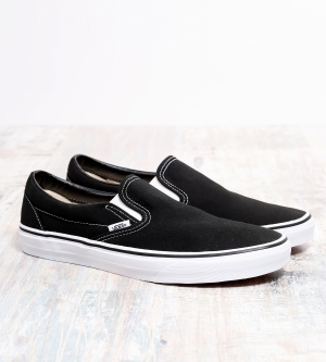 Vans Slip On Classic Sneaker Black White