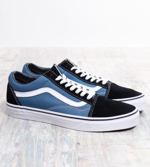 Vans Old Skool Sneaker Navy White