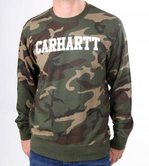 Carhartt College Sweatshirt Camouflage