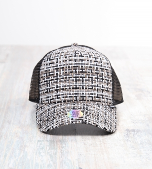 Djinns Tweed Trucker Cap