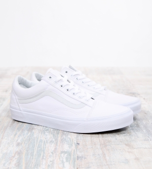 Vans Old School True White