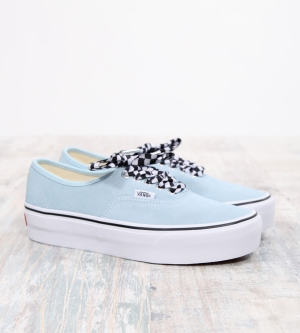 Vans Authentic Platform Suede Cool Blue