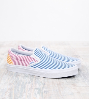 Vans Classic Slip On Stripes Mix